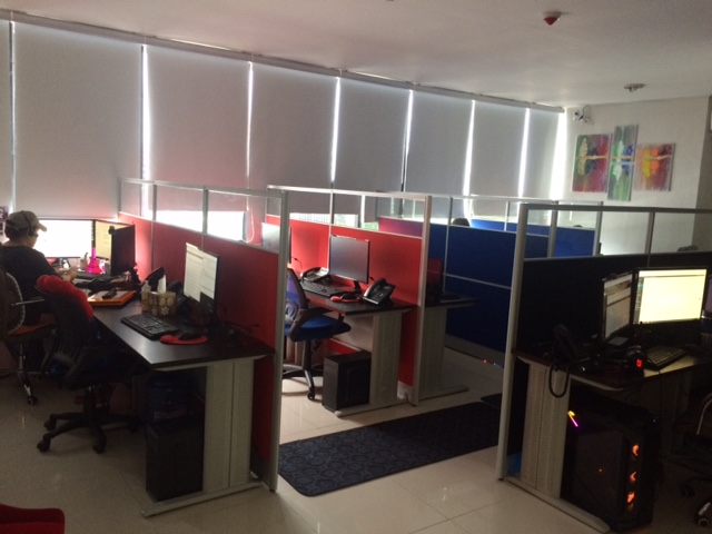 latest equipment and spacious work stations are part of smart online staff's commitment